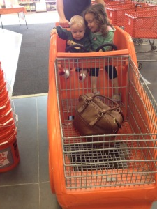 Adorableness at Home Depot when we had to get a new dishwasher